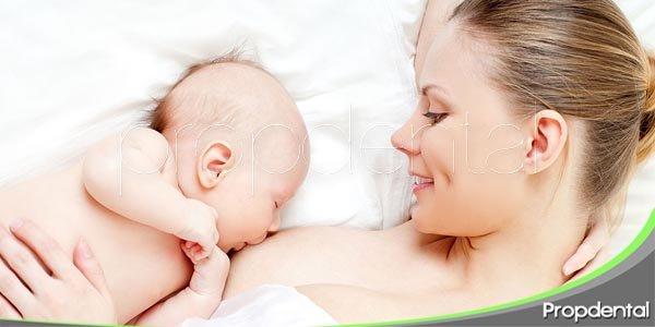 beneficios orales de la lactancia materna