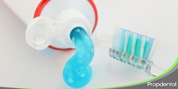componentes de la crema dental