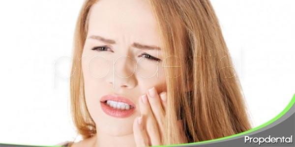 particularidades de la hipertesia dentinal