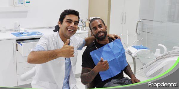 primera visita en clínicas propdental