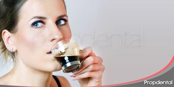 café o el enemigo de la estética dental