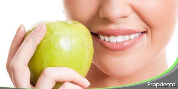 alimentos útiles para la salud oral