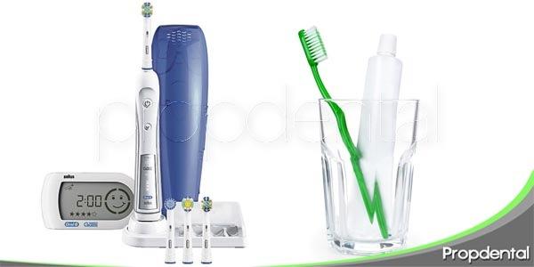 ¿cepillo eléctrico o manual?