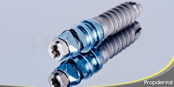 datos acerca de los implantes