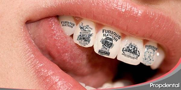 tatuajes dentales