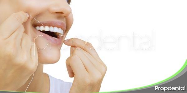 utilidad del hilo dental