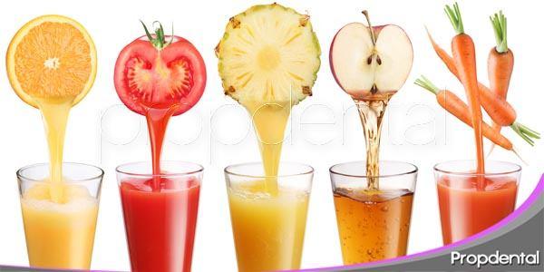 zumos naturales, la mejor opción entre los refrescos para tus dientes