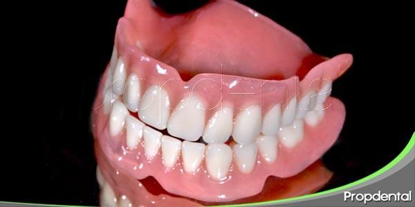 cuidados de la dentadura postiza