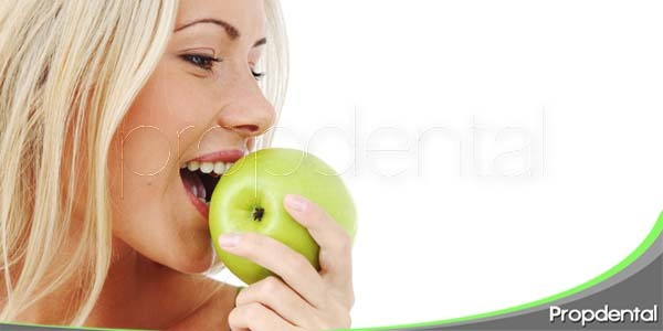 dieta para mantener una dentadura sana