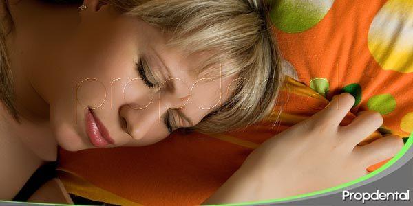 problemas dentales durante el sueño
