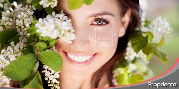 tratamientos dentales para la primavera