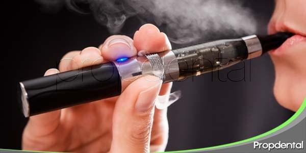 cigarrillos electrónicos y salud oral