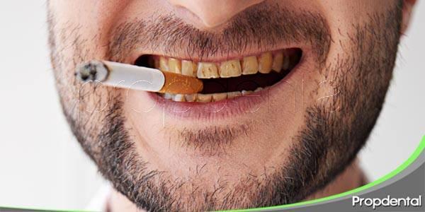 cómo afecta fumar a la salud dental