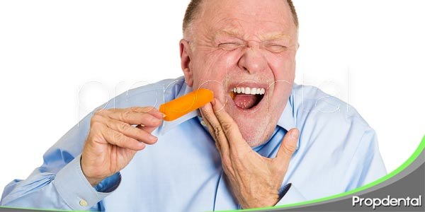 consecuencias de la sensibilidad dental