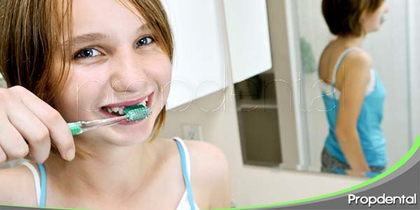 cuidado dental en adolescentes