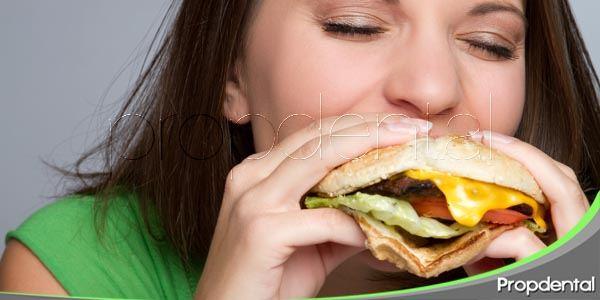 dieta y salud oral