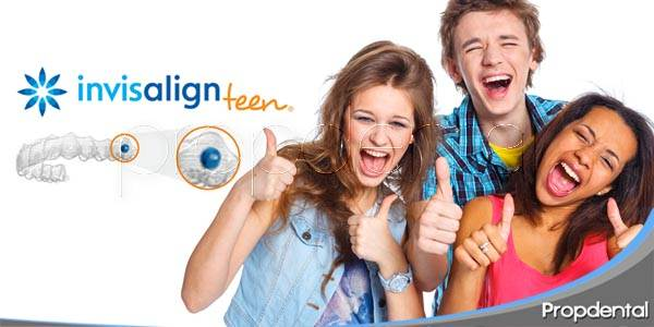 invisalign teen para pacientes adolescentes