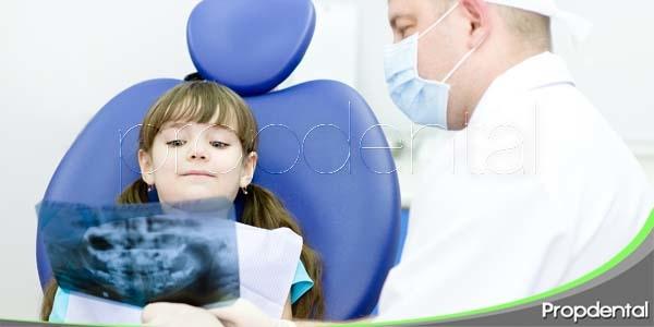 radiografías dentales y niños