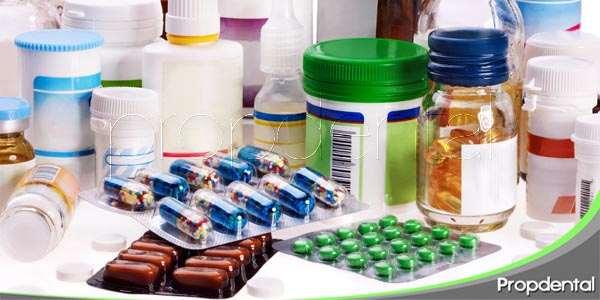 Medicamentos utilizados en odontología