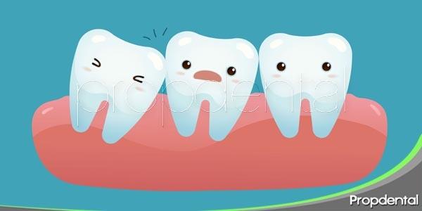 dientes impactados y perdidos