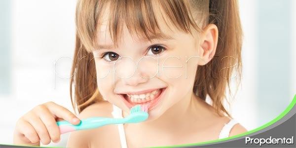 los dientes de los más pequeños