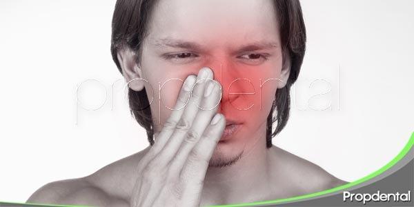 sinusitis y dolor dental
