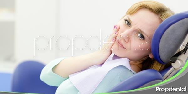 Ir al dentista en caso de dolor