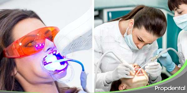 Blanqueamiento o limpieza dental