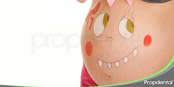 Enfermedades dentales durante el embarazo