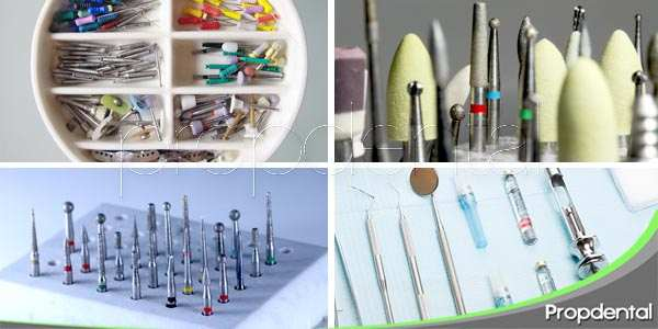 Instrumental dental en la clínica