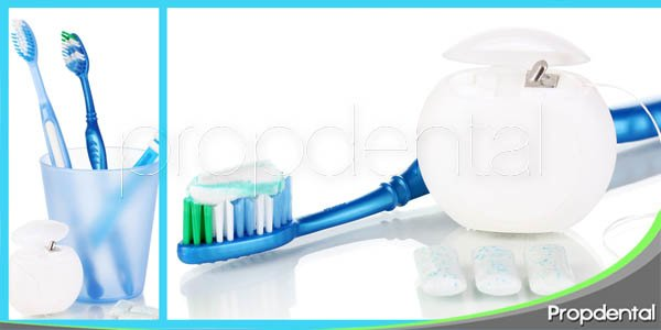 Productos de higiene dental