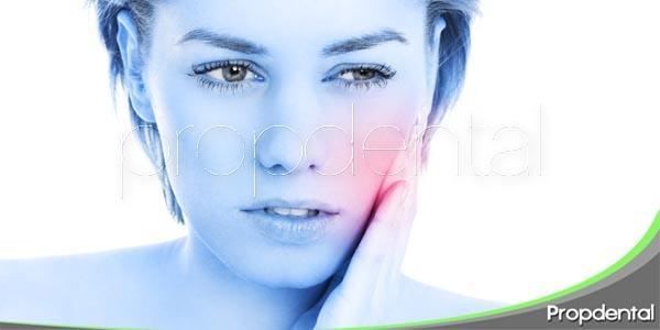 Sensibilidad tras una intervención dental