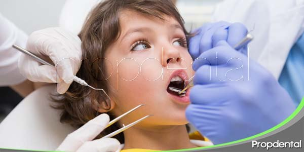 Los niños y el dentista