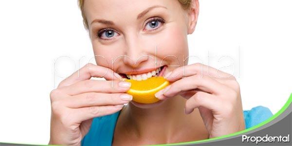 Como nos afectan los alimentos ácidos