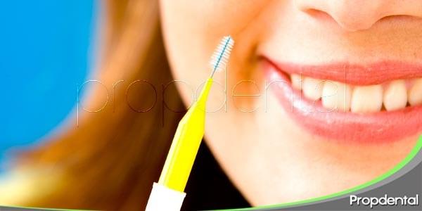 Uso de los cepillos interproximales