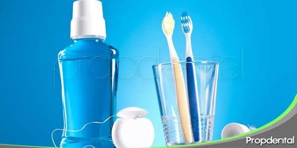Utensilios para una buena higiene oral