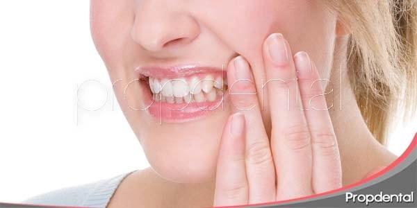 Sensibilidad dental después de un blanqueamiento