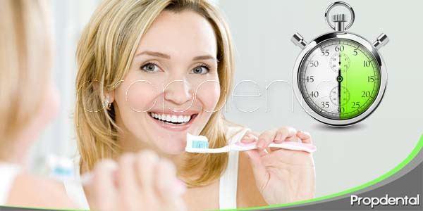 30 minutos a la semana bastan para cuidar tu sonrisa