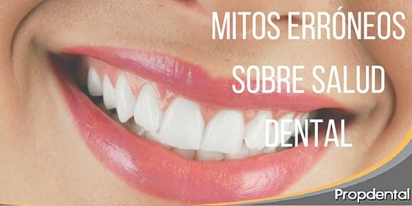 Mitos érroneos sobre salud dental