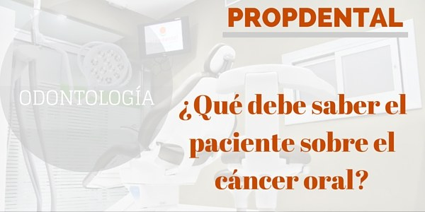 saber paciente sobre cancer oral