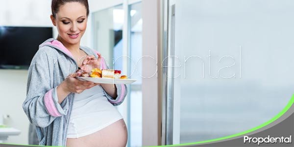 Los antojos durante el embarazo, en contra de la salud oral