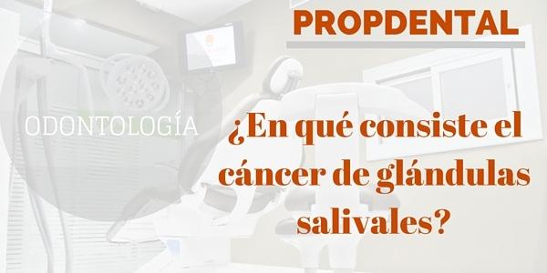 En que consiste el cáncer de glándulas salivales