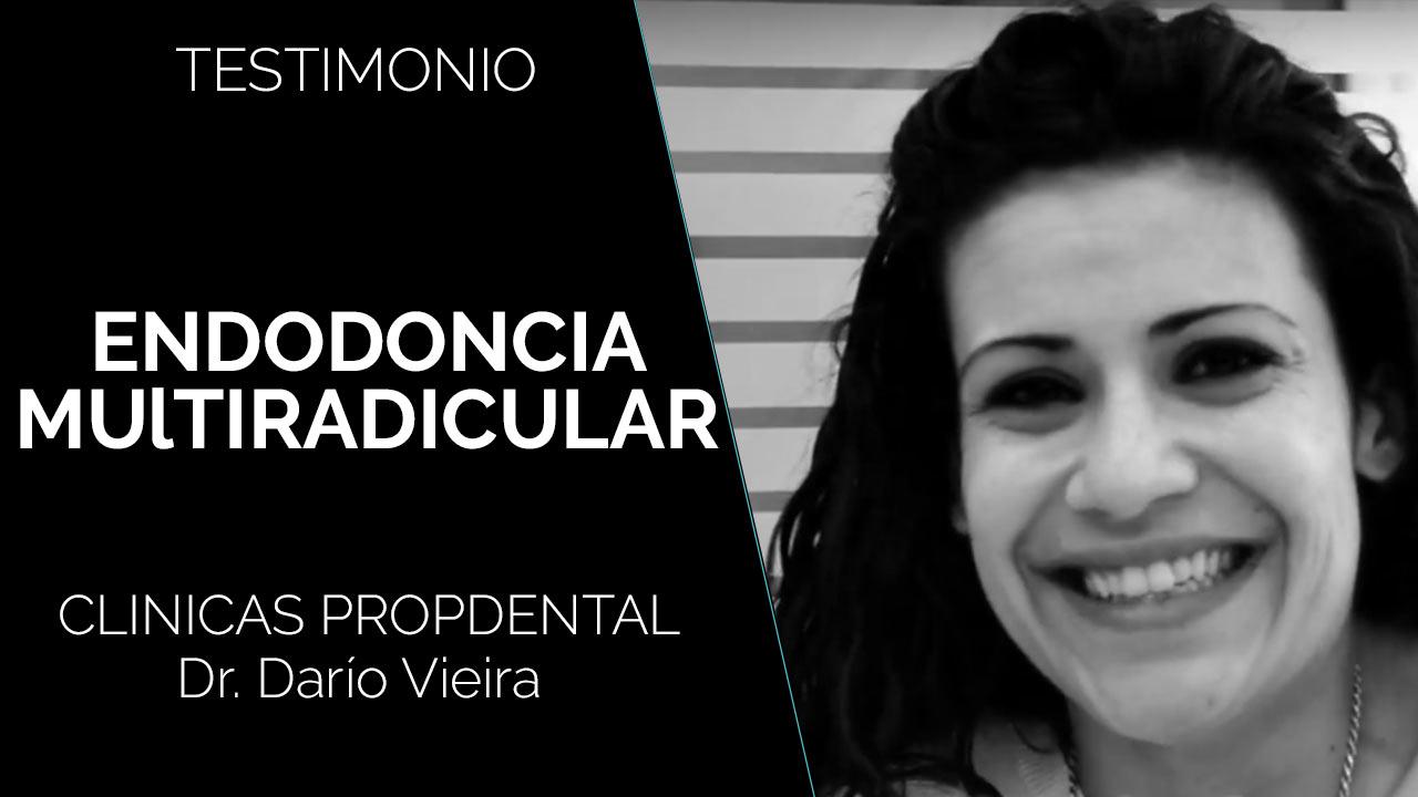 testimonio endodoncia multiradicular