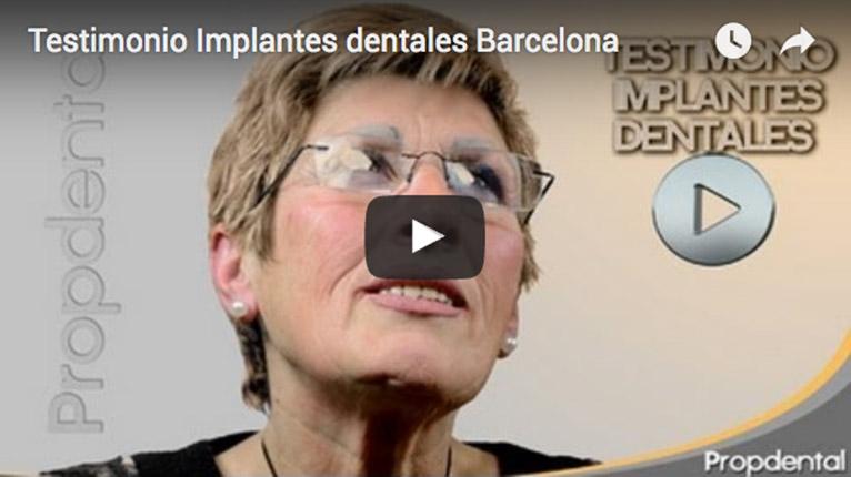 testimonio implantes dentales barcelona