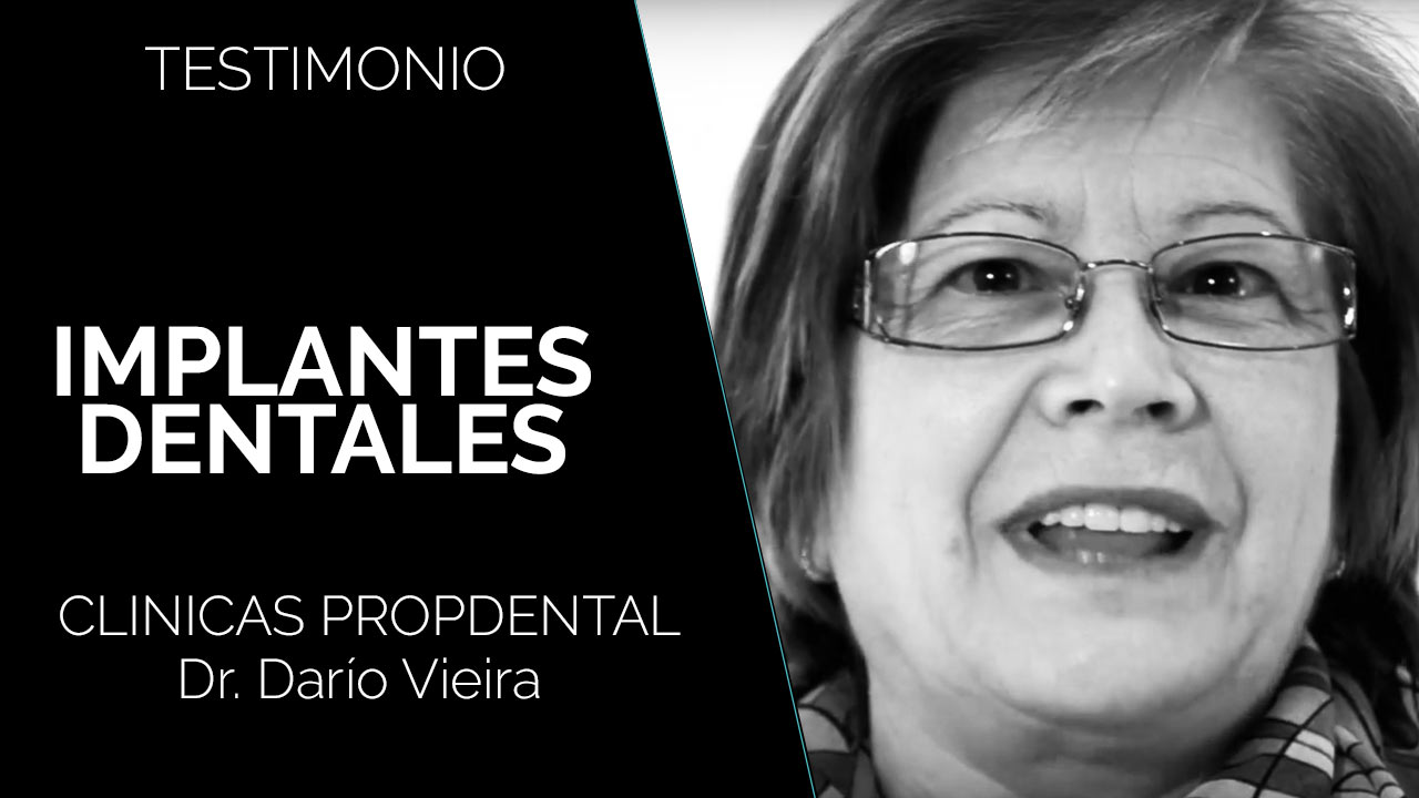testimonio implantes dentales paciente