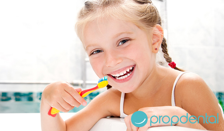 Evitar la caries dental en niños