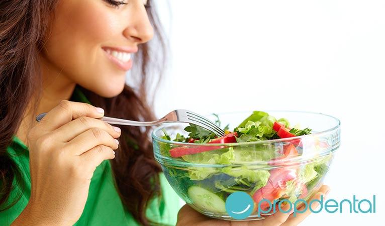 importancia de la nutrición salud bucodental