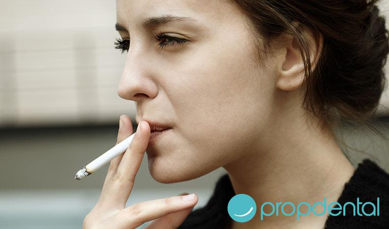 hábitos perjudiciales para tus dientes tabaquismo