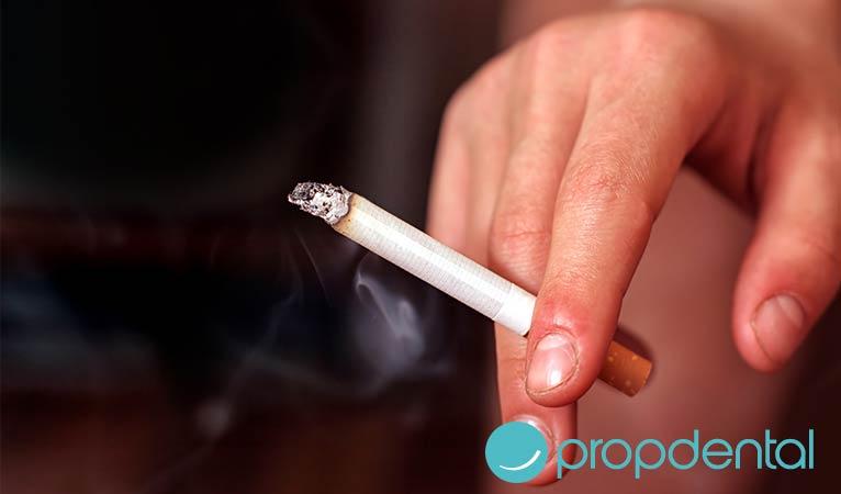 efectos nocivos del tabaco los dientes