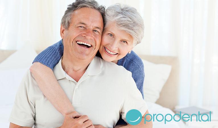 implantes dentales en tercera edad